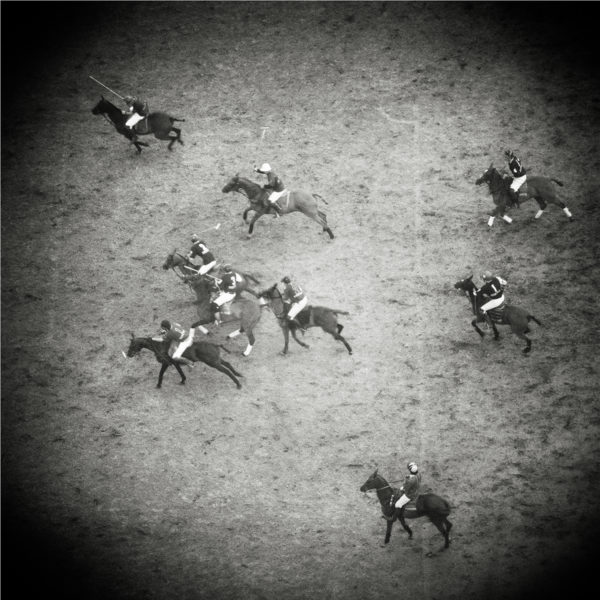 Monica Stevenson Equine Photography - polo match from above