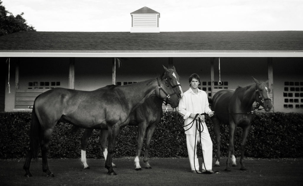 Monica Stevenson Fine Art Photography Commissions, Facundo Pieres with Polo Ponies